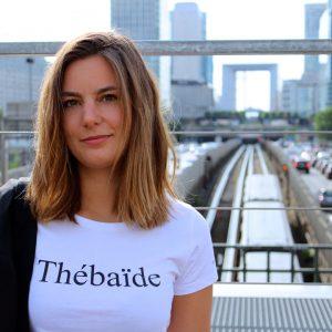 Le t-shirt Thébaïde femme par l'atelier jour de lune