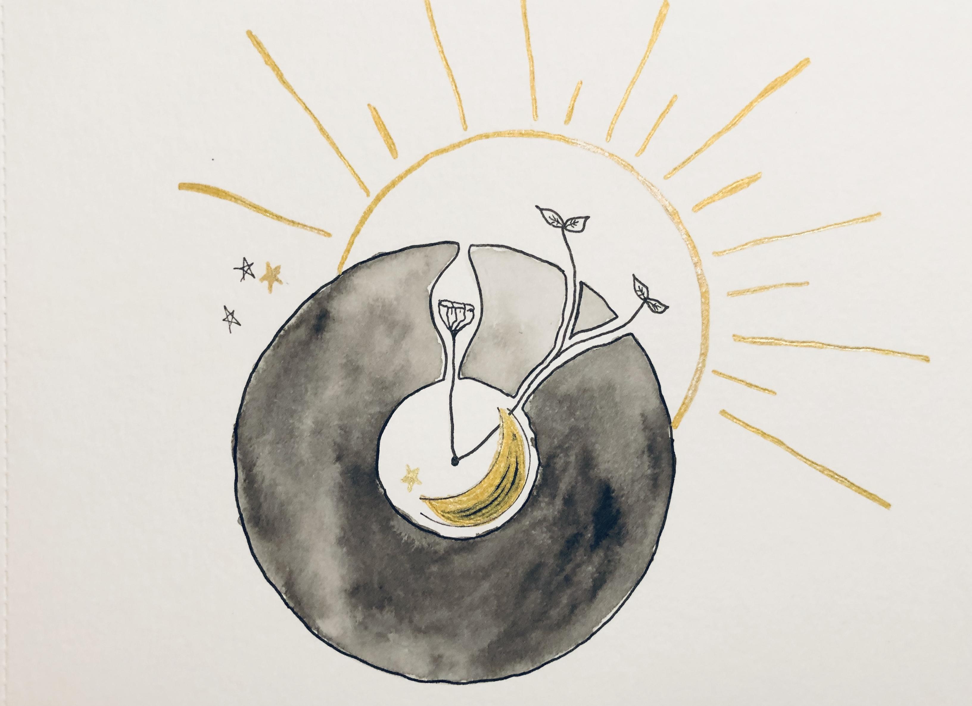 Illustration de l'article de blog Le vide fécond de l'Atelier Jour de Lune